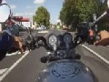 Self Filmed Motorbike Crash At 120 Km H