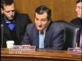 Sen. Cruz Questions Sierra Club President Aaron Mair On Climate Change