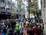 Sounders Supporters March To Stadium