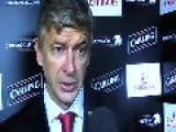Soccer Coach Arsene Wenger Dripping Snot In Live Post Match Interview LOL