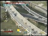 Suspect Jumps Off Overpass Evading Austin Police