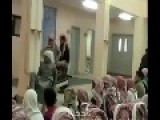 Saudi Teacher Caught Lashing Students