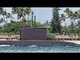 South Korean Submarine Leaves Pearl Harbor - Hawaii