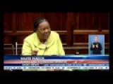 South African Parliament - Racist Allegations During Budget Meeting