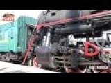 Steam Locomotive Major Striking Close Shoot Purge Steam