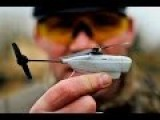 Smallest Military UAV Aircraft. Black Hornet 2 Nano UAV
