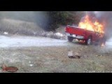 Suspect Caught On Hidden Camera Illegally Dumping And Burning Truck In Dallas