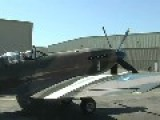 Spitfire Mk 14 Startup, Taxi And Flight Demo