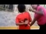 Shocking Moment Mother Forces Her Son To Beat Up Another Child