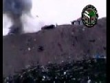 Syrian Sunni Arab Citizen Soldiers Get A Hit On Assad Regime T-72: Hama Governorate