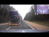 Shocking Video Belarusian Police Car Chase And Shootout With Drunk Driver Truck