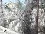 Syria - Large Damage In The Main Cemetery Of Al-Maliha Damascus