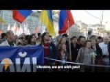 Thousand March In Moscow Against Russian War In Ukraine