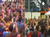 Thousands Of Fans In Berlin For Barcelona – Juventus Champions League Final