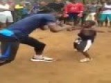 This African Boy Has Amazing Boxing Skills