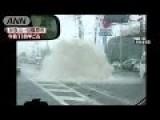 Typhoon Mindulle Smashes Into Tokyo
