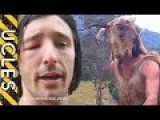 This Crazy, Naked, Australian MoFo... Skip To 6:30 For Action