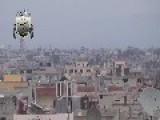 Terrorists Use TOW ATGM & Desroyed 14,5 Cannon On Roof In Mleihat Gharbiyyeh
