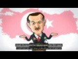 Turkey's Erdogan: 2 Faced Extremist Cartoon
