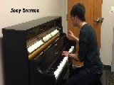 Talented Student Plays Famous Ringtones On Piano