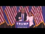 Trump Brings Enthusiastic, Screaming Hispanic Supporter On Stage