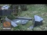 Tombs Desecrated At Jewish Cemetery In France
