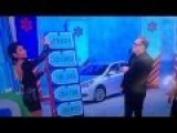 The Price Is Right Game Show Model Fucks Up And Drew Carey Gives Away The Car