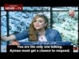 TV Show Host Goes Full Retard Live On Air : We Don't Want Infidels Here!