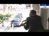 The Scene At The Bardo Museum Compound In Tunisia As Hostages Escape Terror Attack - RAW FOOTAGE