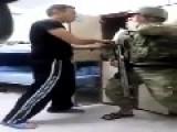 Turkish Soldiers Prank Fellow Soldier