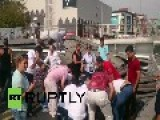 Turkey: Sugar-truck Demolishes Highway Overpass, Killing One