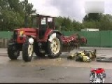Tractor Accident Test Video