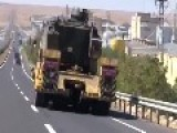 Tank Supplement Of Turkish Army To Syria Border