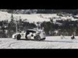 The Cars Run On Snow