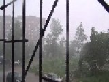 Thunderstorm Rips Through Russian Town Of Perm