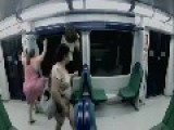 The Walking Dead Subway In Brazil