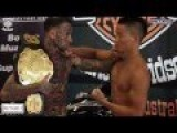 Tattooed Bully Acts Tough And Gets Knocked Out In 20 Seconds!