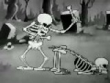 The Skeleton Dance And Spooky Scary Skeletons Remix