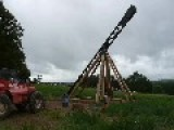 The Trebuchet - Launching A Car, Piano And Incendiary Drum