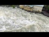 Tasmanian Floods Duck Reach Power Station Launceston June 7th 2016 Watch In HD Adrian Kelly Adrian Kelly