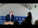Trump Gets Scolded In Church