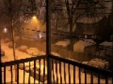 Thundersnow Flashes Over Montreal