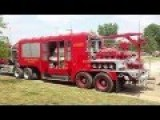 The World's Most Powerful Fire Truck - Powerful Like Smelly Vagina