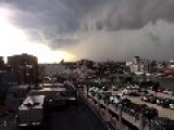 Timelapse Shows Major Storm Rolling Into Boston