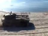 Tanks On The Beach