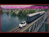The New Land Rover Discovery Sport Towing 100 Ton Train A 2b9c Cross Railway Bridge In Switzerland !!!