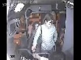 Thief Attempts Bag Snatch On Bus