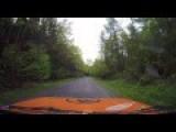 The Most Elegant Rallye Crash