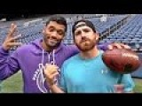 Trick Shots By Dude Perfect: Seattle Seahawk Style