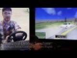 Texting Drivers Crash In Simulator